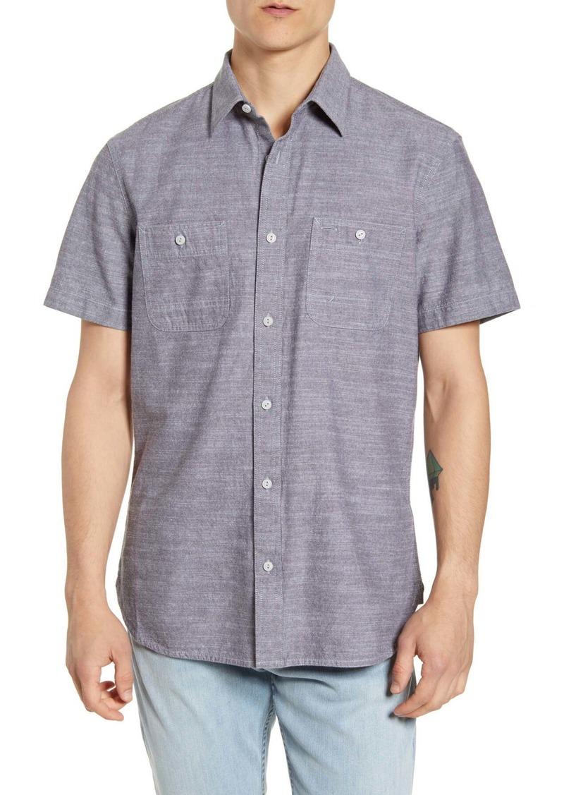 1901 Workwear Short Sleeve Chambray Button-Up Shirt