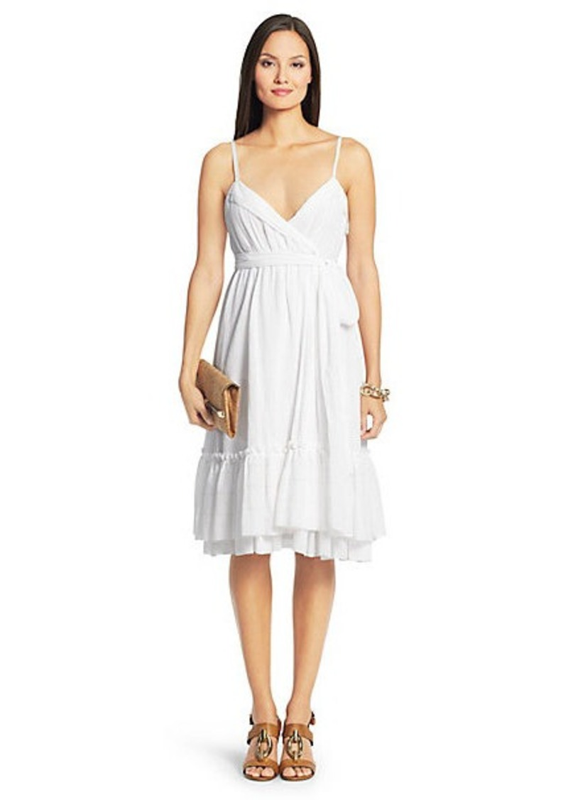 Diane Von Furstenberg Queenie Cotton Tier Dress