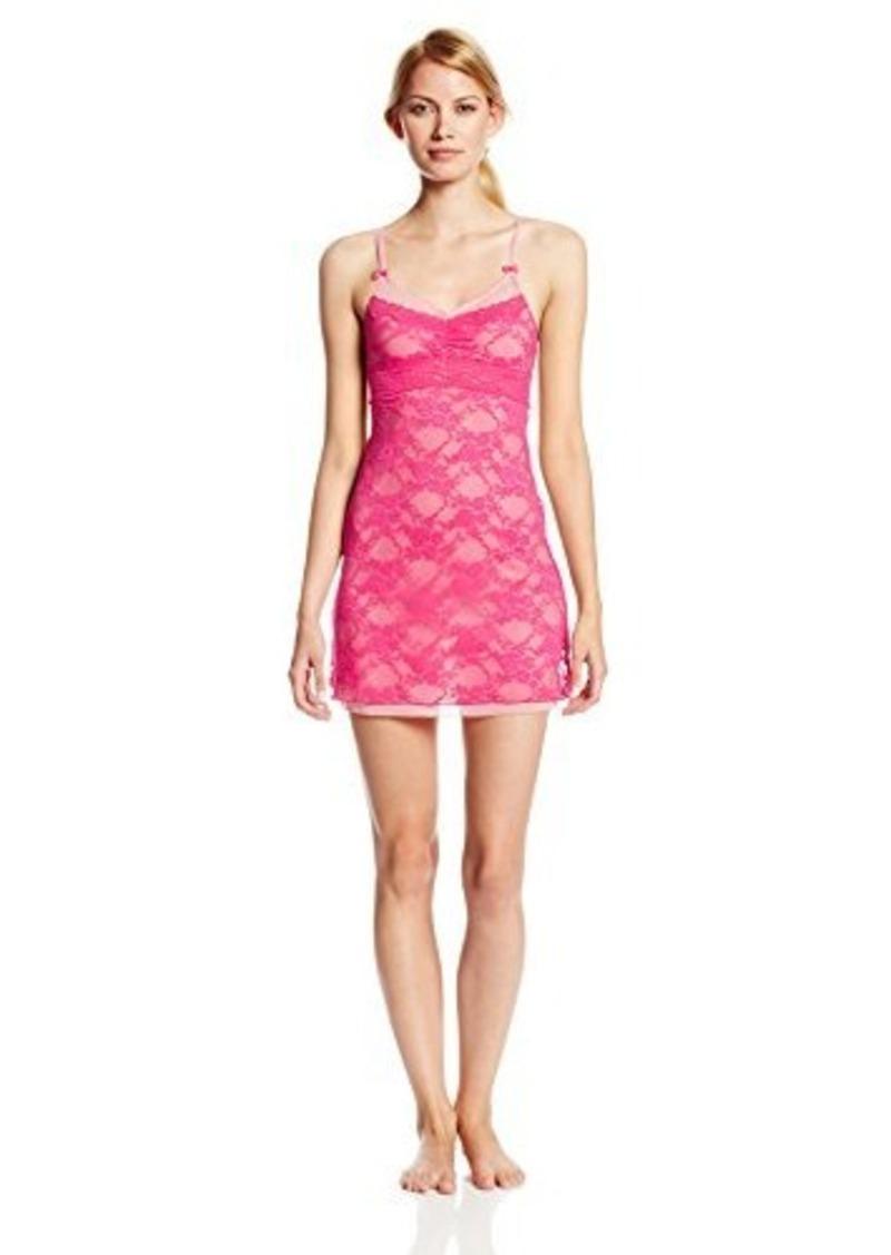 Betsey Johnson Women's Lace and Mesh Slip