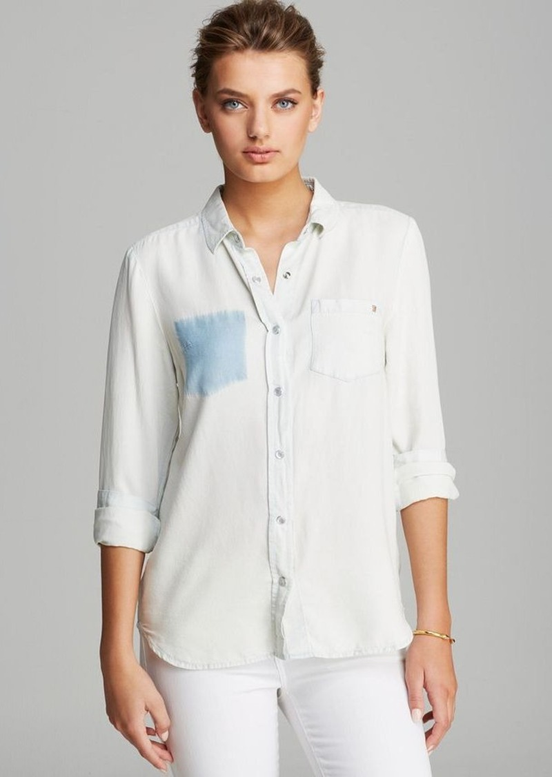 FRENCH CONNECTION Shirt - Dolly Drape Denim
