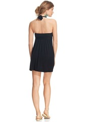 Kenneth Cole Reaction Ruffle Halter Cover Up Dress