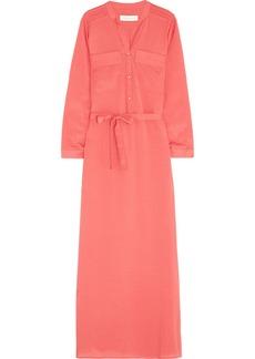 T-Bags Satin-crepe maxi dress