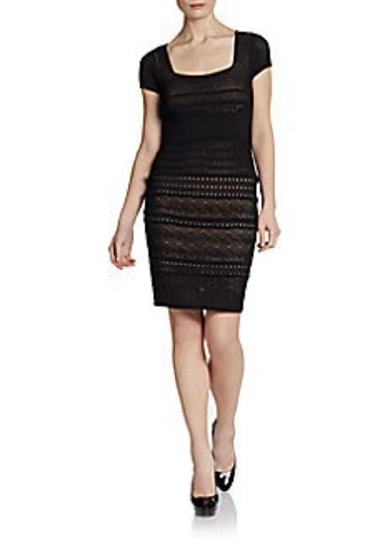 Catherine Malandrino Cheryl Pointelle Dress