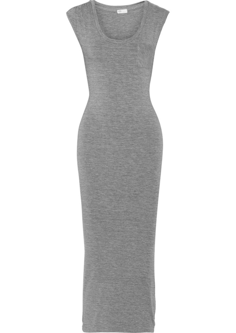 AG Adriano Goldschmied AG Jeans Slub jersey maxi dress
