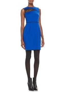Nanette Lepore Take My Hand Lace-Inset Dress