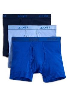 2(x)ist 3-Pack Cotton Boxer Briefs