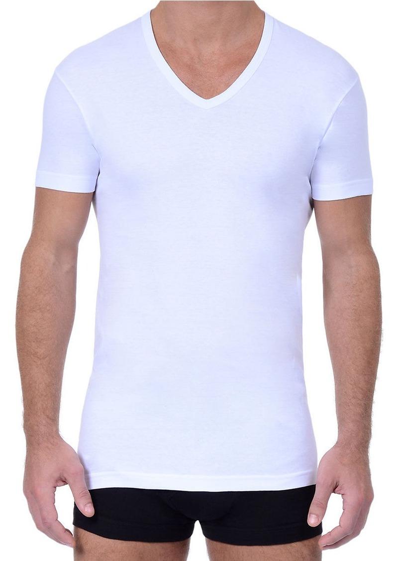 2(x)ist 2XIST 3 pack Essential Slim Fit V-Neck T-Shirt