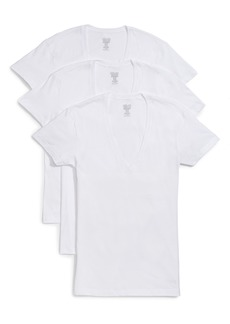 2(x)ist 3-Pack Slim Fit Deep V-Neck T-Shirt