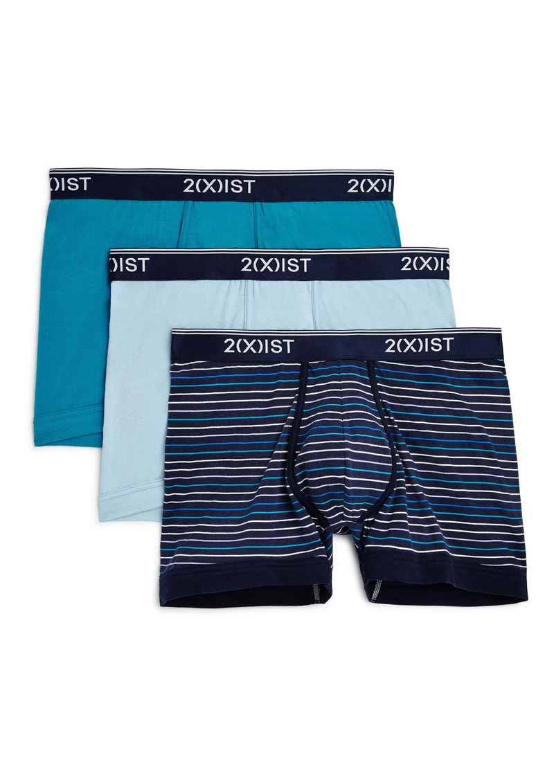 2(x)ist 3-Pack Stretch Boxer Briefs