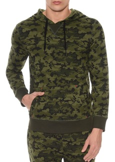 2(X)IST Camouflage Terry Pullover Hoodie Lounge Sweatshirt