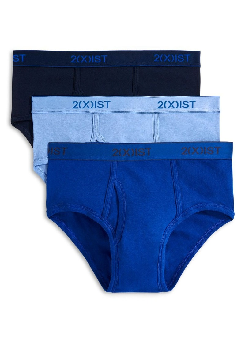 2(X)IST Cotton Contour Pouch Briefs, Pack of 3