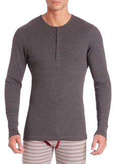 2(x)ist Heathered Cotton Henley