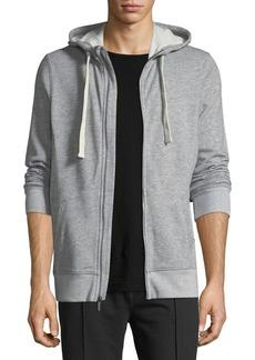 2(x)ist Heathered-Knit Zip-Front Sweatshirt