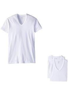 2(X)IST Essential Cotton 3 Pack Slim Fit V-Neck T-Shirt