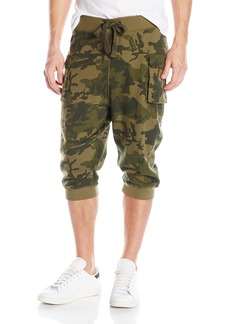 2(X)IST Men's Cargo Cropped Pant  X-Large