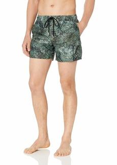2(X)IST Men's Cargo Swim Short Swimwear dot camo/Black