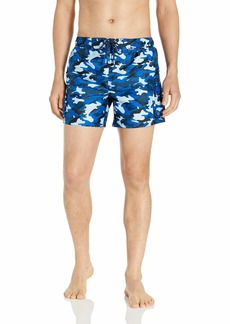 2(X)IST Men's Cargo Swim Short Swimwear Traditional camo/Blue
