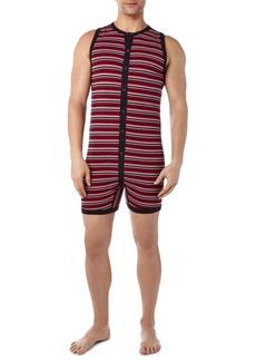 2(x)ist Men's Cotton Printed Bike Suit Pajamas