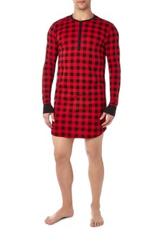 2(x)ist Men's Cotton Printed Sleep Shirt