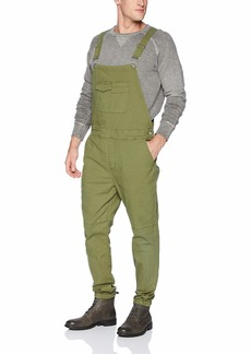 2(X)IST Men's Cotton Slim Fit Overall with Pockets Pants
