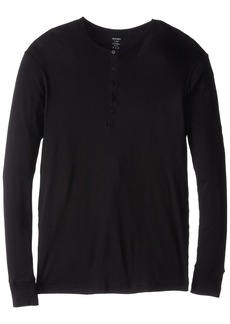 2(X)IST Men's Essential Long Sleeve Henley  Extra Large