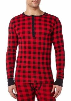 2(X)IST Men's Essential Long Sleeve Henley Shirt