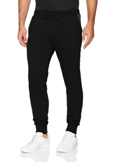 2(X)IST Men's Jogger Pant Pants Spacer dye Black