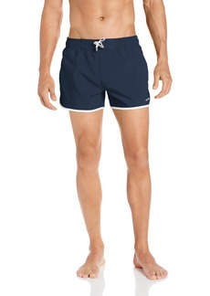 2(x)ist Men's Jogger Swim Trunk Swimwear -navy/white SM