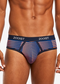 2(x)ist Men's No-Show Briefs