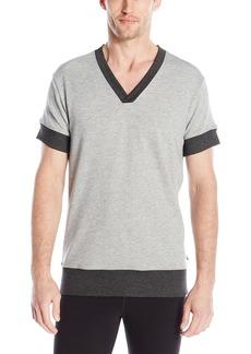 2(X)IST Men's Short Sleeve V-Neck Sweatshirt
