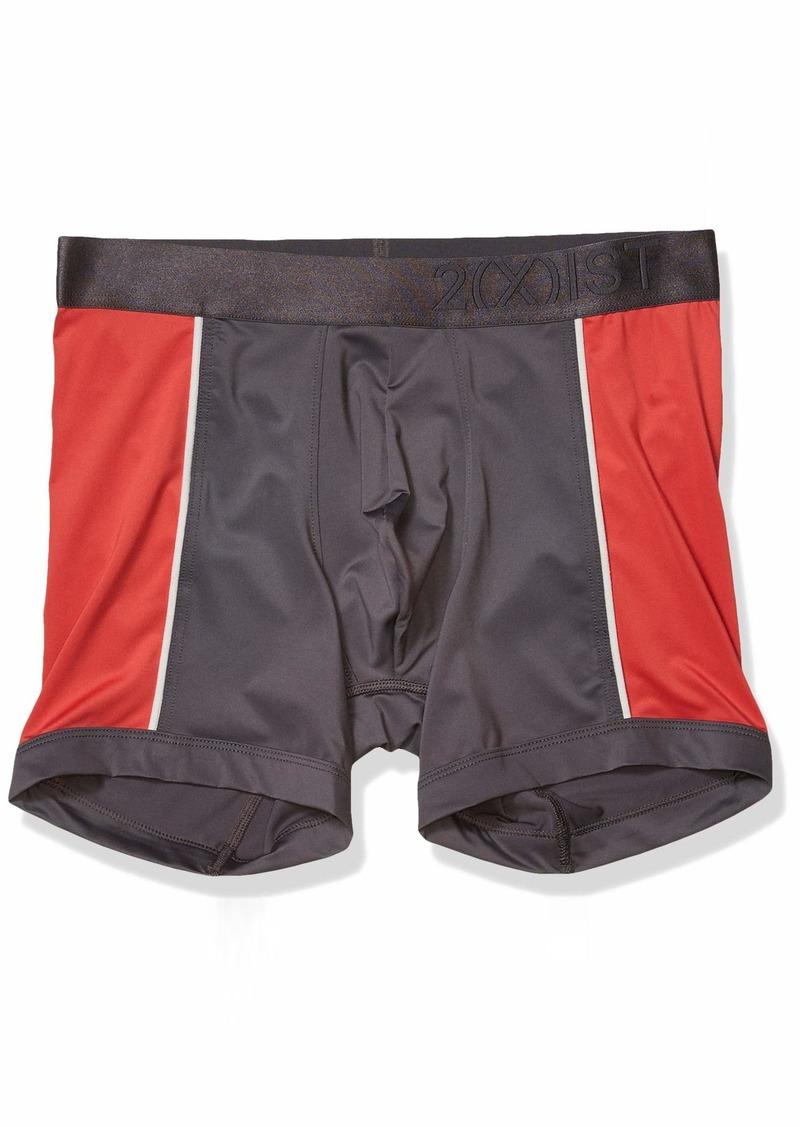 2(X)IST Men's Speed Dri Color Block Boxer Brief