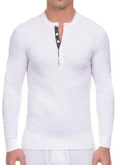 2(x)ist Men's Tartan-Placket Tech Henley Shirt