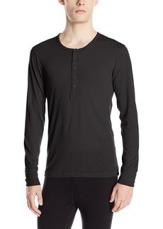 2(X)IST Men's Tartan Tech Long Sleeve Henley  Extra Large