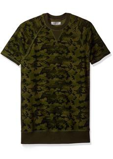 2(X)IST Men's Terry Short Sleeve Crew Neck Sweatshirt