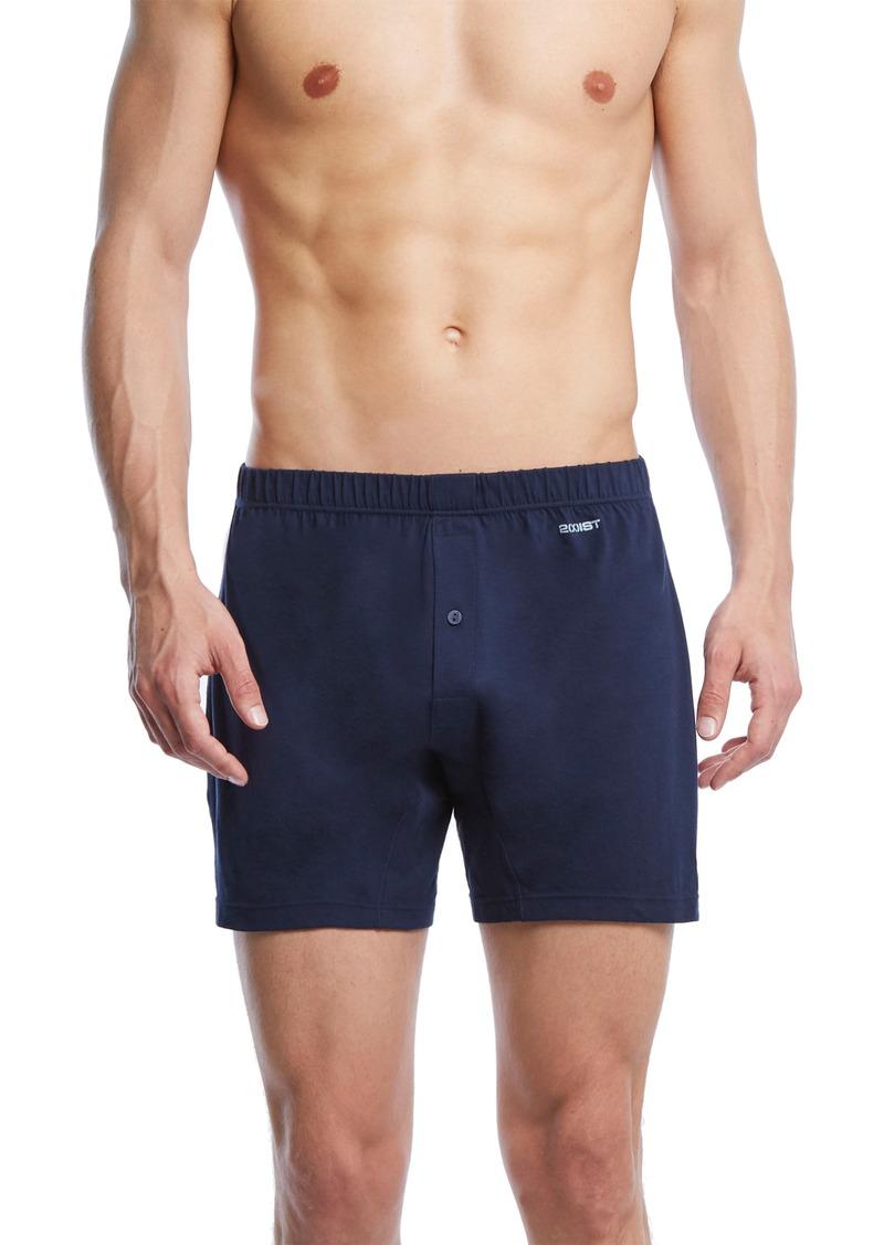 2(x)ist Pima Cotton Knit Boxers