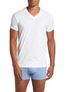 2(x)ist Pima Cotton Slim Fit V-Neck T-Shirt