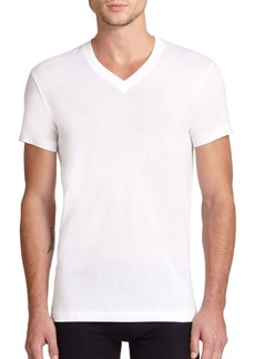 2(x)ist Pima Cotton V-Neck Tee