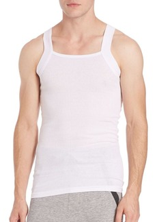 2(x)ist 2-Pack Ribbed Cotton Tank Top