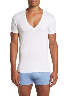 2(x)ist Slim Fit Pima Cotton Deep V-Neck T-Shirt