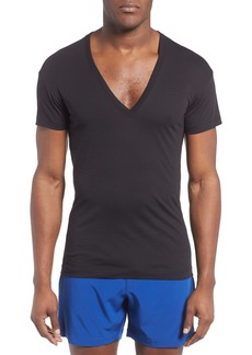 2(x)ist Slim Fit Pima Cotton Deep V-Neck T-Shirt