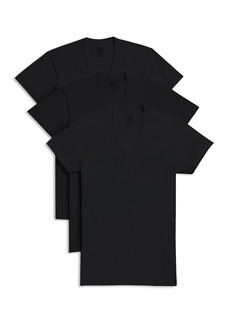 2(X)IST Slim Fit V-Neck Tee, Pack of 3