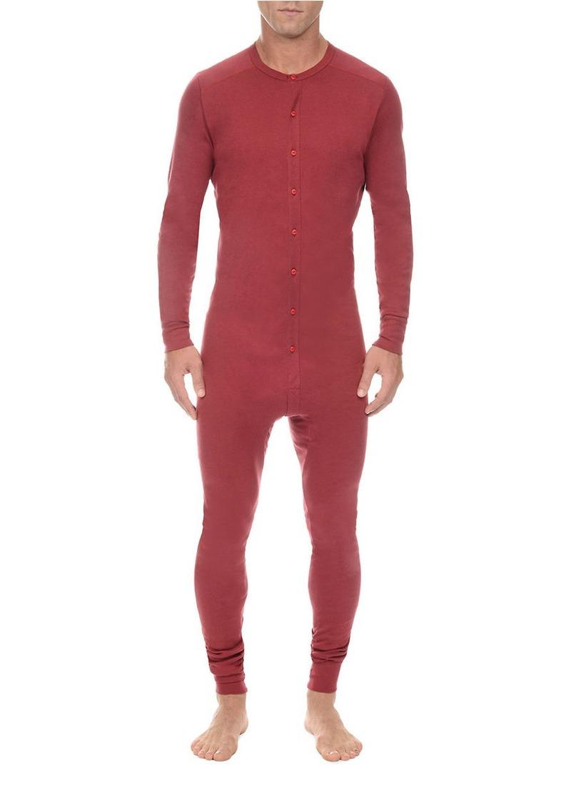 2(x)ist 2XIST Tartan Button Front Jumpsuit