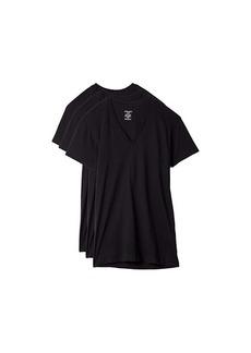 2(x)ist 3-Pack ESSENTIAL Slim Fit V-Neck T-Shirt