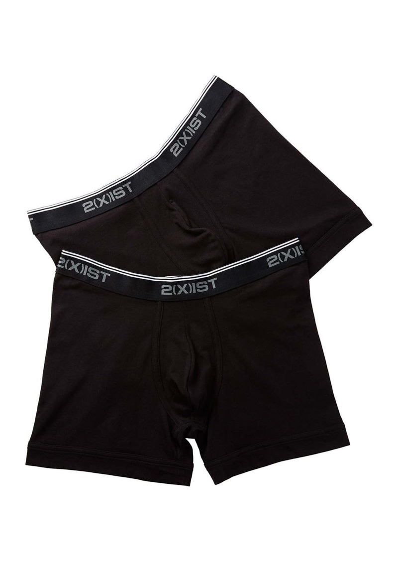 2(x)ist Stretch Cotton Boxer Brief - Pack of 2