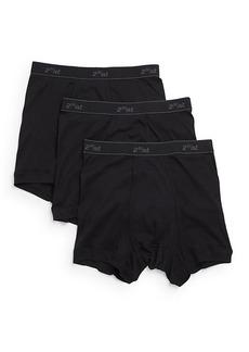 2(x)ist Cotton Elasticized Waist Boxers- Set of 3