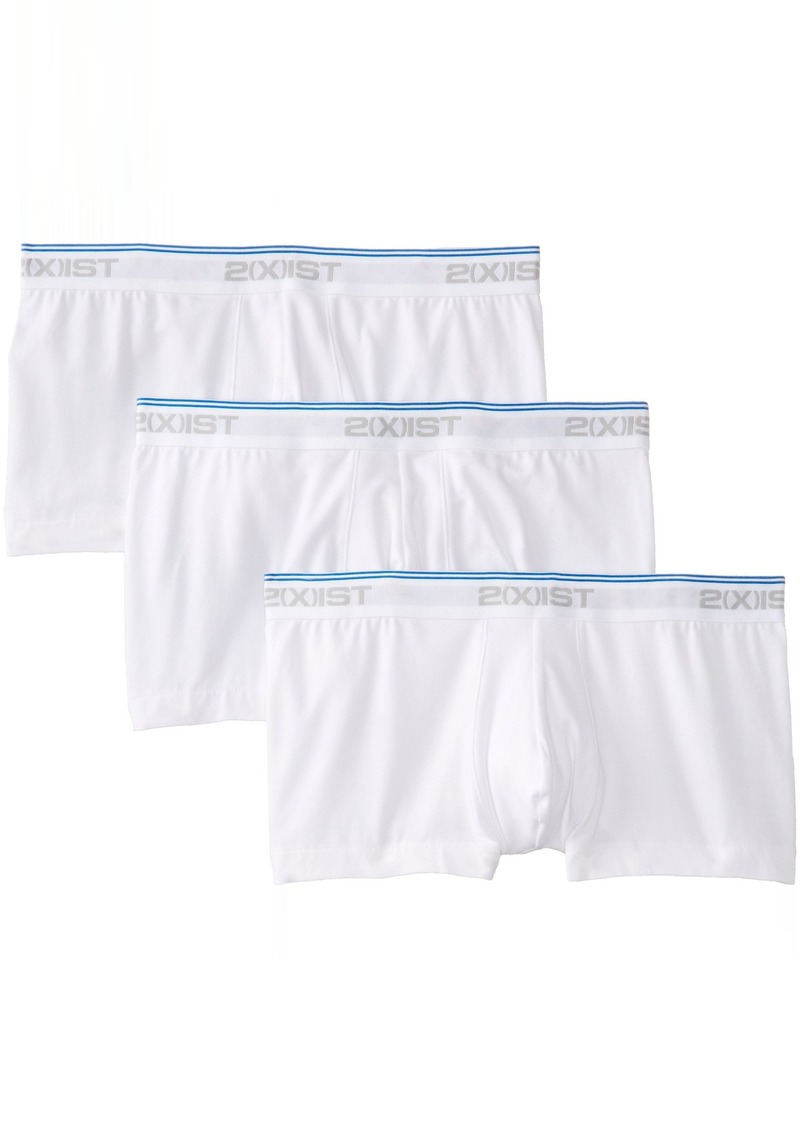 2(x)ist Cotton Stretch 3 Pack No-Show Trunk