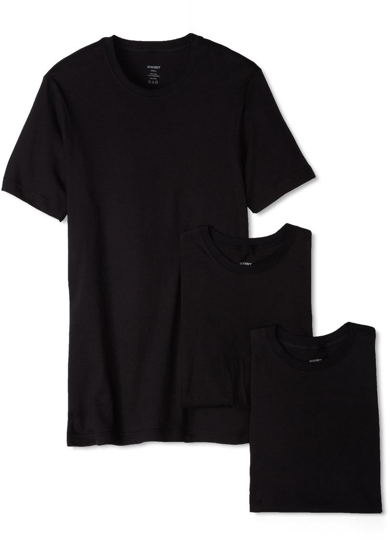 2(x)ist Essential Cotton 3 Pack Crew Neck T-Shirt