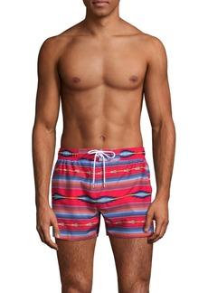2(x)ist Fiesta Striped Ibiza Swim Shorts