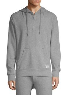2(x)ist Hooded Henley Sweatshirt