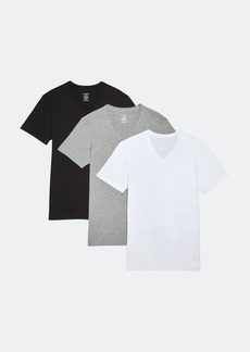 2(x)ist Essential Cotton V-Neck T-Shirt 3-Pack - XL - Also in: S, L, M